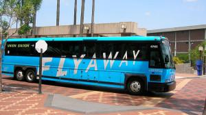 Flyawayはいくつか行き先が違うものがあります。必ずUNION STATION(ユニオンステーション)行きに乗りましょう。